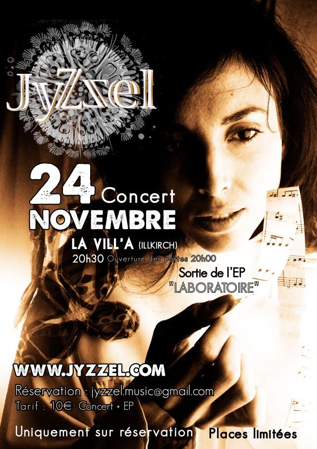 release party jyzzel 24 novembre
